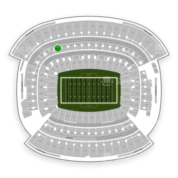 Cleveland Browns at FirstEnergy Stadium Section 338 View