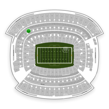 Cleveland Browns at FirstEnergy Stadium Section 340 View