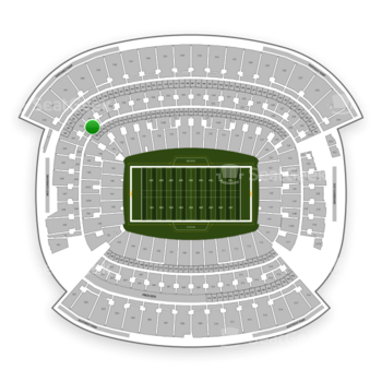 Cleveland Browns at FirstEnergy Stadium Section 341 View