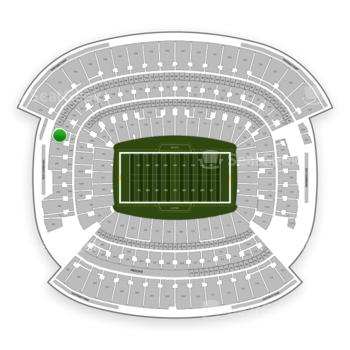 Cleveland Browns at FirstEnergy Stadium Section 344 View