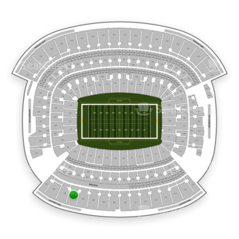 Cleveland Browns at FirstEnergy Stadium Section 504 View