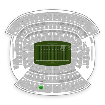 Cleveland Browns at FirstEnergy Stadium Section 506 View