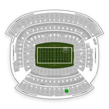 Cleveland Browns at FirstEnergy Stadium Section 511 View
