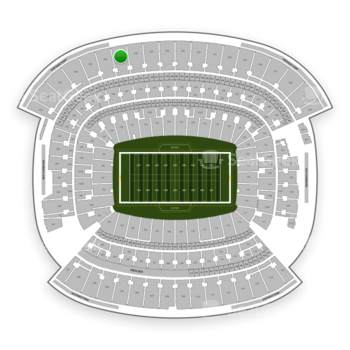 Cleveland Browns at FirstEnergy Stadium Section 537 View