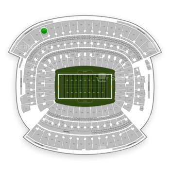 Cleveland Browns at FirstEnergy Stadium Section 539 View