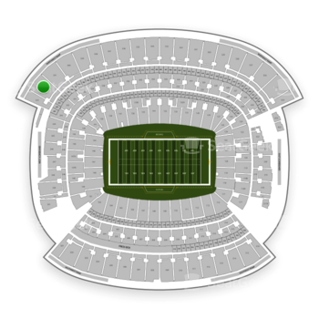 Cleveland Browns at FirstEnergy Stadium Section 542 View