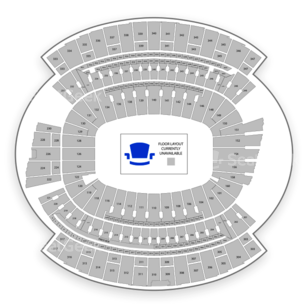 Paul Brown Stadium Seating Chart Concert