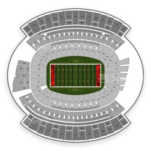 Paul Brown Stadium Seating Chart NCAA Football