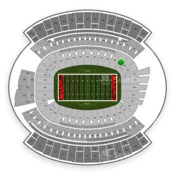 Cincinnati Bengals at Paul Brown Stadium Section 148 View