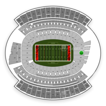 Cincinnati Bengals at Paul Brown Stadium Section 154 View