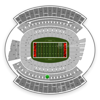 Cincinnati Bengals at Paul Brown Stadium Section 211 View