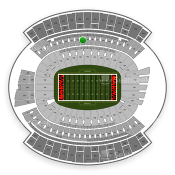 Cincinnati Bengals at Paul Brown Stadium Section 239 View
