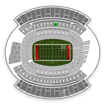Cincinnati Bengals at Paul Brown Stadium Section 241 View