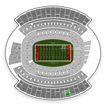 Cincinnati Bengals at Paul Brown Stadium Section 307 View