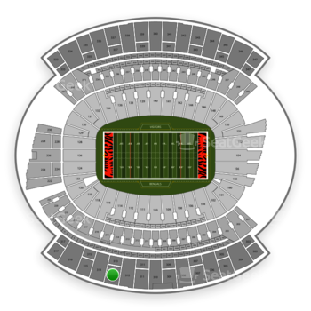 Cincinnati Bengals at Paul Brown Stadium Section 313 View