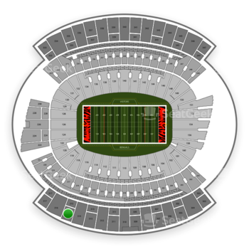 Cincinnati Bengals at Paul Brown Stadium Section 315 View