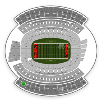 Cincinnati Bengals at Paul Brown Stadium Section 316 View