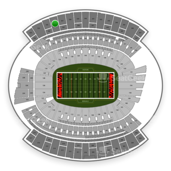 Cincinnati Bengals at Paul Brown Stadium Section 336 View