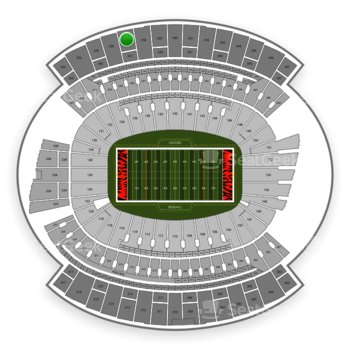 Cincinnati Bengals at Paul Brown Stadium Section 337 View