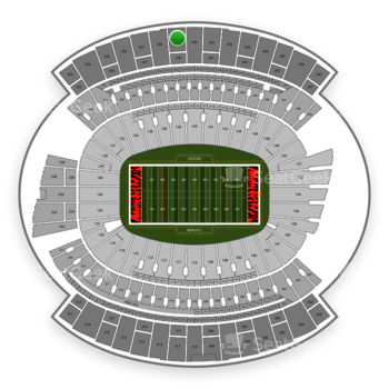 Cincinnati Bengals at Paul Brown Stadium Section 339 View