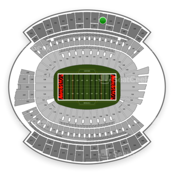 Cincinnati Bengals at Paul Brown Stadium Section 342 View
