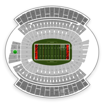 Cincinnati Bengals at Paul Brown Stadium Section 226 View