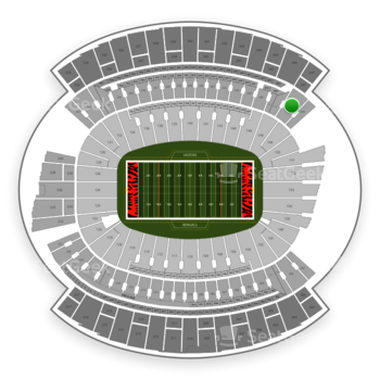 Cincinnati Bengals at Paul Brown Stadium Section 248 View