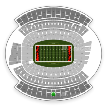 Cincinnati Bengals at Paul Brown Stadium Section 310 View