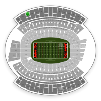 Cincinnati Bengals at Paul Brown Stadium Section 335 View