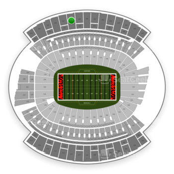 Cincinnati Bengals at Paul Brown Stadium Section 338 View