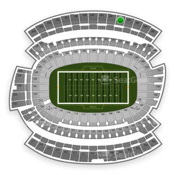 Cincinnati Bengals at Paul Brown Stadium Section 343 View