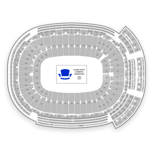 Lambeau Field Seating Chart Concert