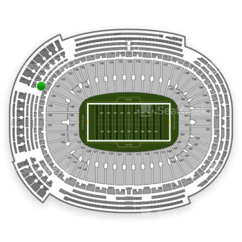 Green Bay Packers at Lambeau Field 442 S View