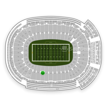 Green Bay Packers at Lambeau Field Section 116 View