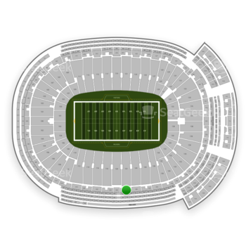 Green Bay Packers at Lambeau Field Section 328 View