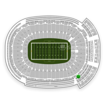 Green Bay Packers at Lambeau Field 434 S View