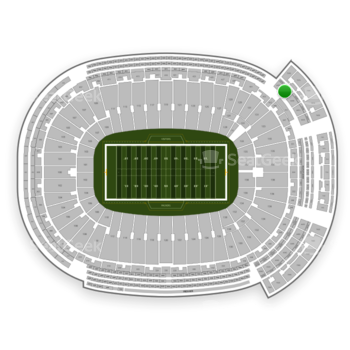 Green Bay Packers at Lambeau Field Section 637 S View