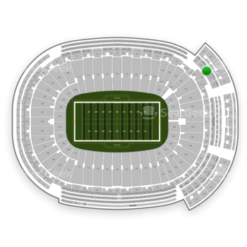 Green Bay Packers at Lambeau Field Section 639 S View