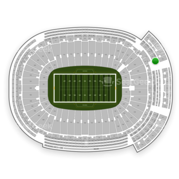 Green Bay Packers at Lambeau Field Section 643 S View