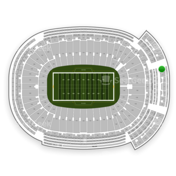 Green Bay Packers at Lambeau Field Section 745 S View