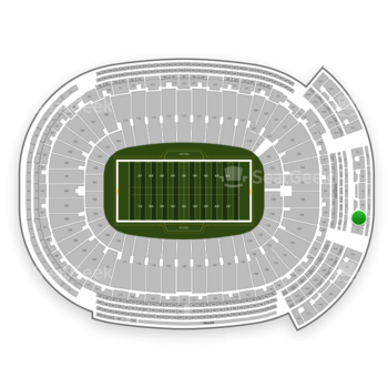 Green Bay Packers at Lambeau Field Section 746 S View
