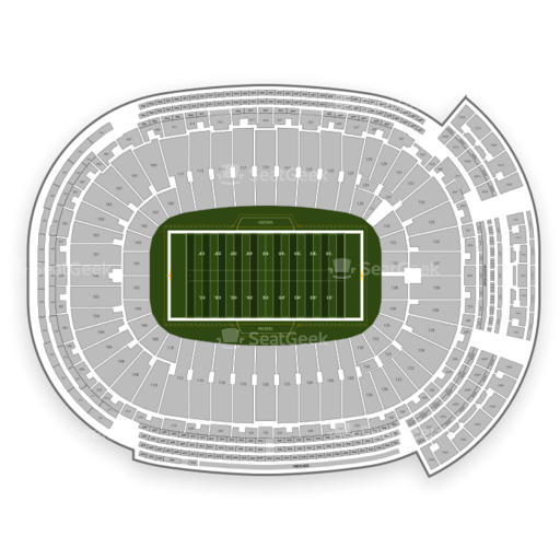 Lambeau Field Seating Chart & Map   SeatGeek on sports authority field seating map, orange bowl seating map, nrg stadium seating map, great american ball park seating map, milwaukee mile seating map, fox cities performing arts center seating map, sun life stadium seating map, paul brown stadium seating map, levi's stadium seating map, fau stadium seating map, tdecu stadium seating map, university of phoenix stadium seating map, veterans stadium seating map, nippert stadium seating map, madison seating map, carolina panthers seating map, bmo harris pavilion seating map, legion field seating map, sanford stadium seating map, ralph wilson stadium seating map,