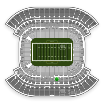 Tennessee Titans at LP Field Section 234 View