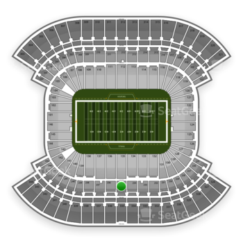 Tennessee Titans at LP Field Section 235 View