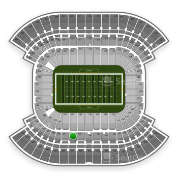 Tennessee Titans at LP Field Section 237 View