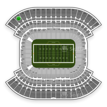 Tennessee Titans at LP Field Section 305 View