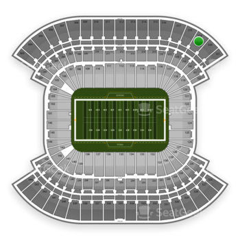 Tennessee Titans at LP Field Section 319 View