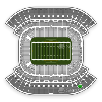 Tennessee Titans at LP Field Section 329 View