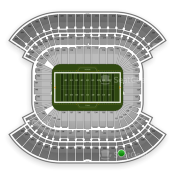 Tennessee Titans at LP Field Section 331 View