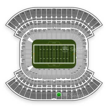 Tennessee Titans at LP Field Section 334 View